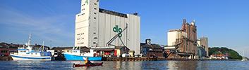 Torsdag d. 28. september kl. 16:30-18: Østre Havn. Havne/byvandring v. Esben Hedegaard