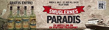 """Onsdag d. 5. juli - 17. september: Se udstillingen """"Smuglernes Paradis"""""""