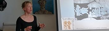 Søndag d. 22. april kl. 15-16.15: Fortidsmindedag - foredrag v. Marie Vang Posselt