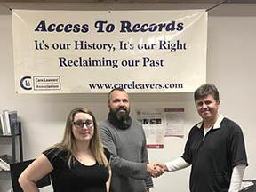 Forsorgsmuseet besøger Care Leavers Association