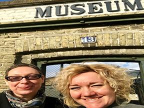 Dr. Manon Parry fra University of Amsterdam på besøg