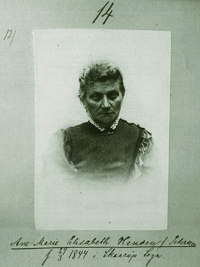 Ane Marie Elisabeth Hansen, f. Petersen