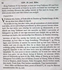 Gavebrevet fra 1229 oversat