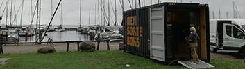 Fredag d. 31. august - 30. september: Udstilling i DEN SORTE BOKS på Ballen Havn