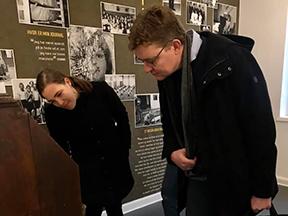 Astrid Krag og Rasmus Helveg P på besøg