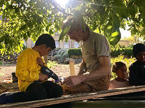 Hulebyggeri i haven