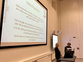 """""""Kvinder og børn på flugt fra vold"""" på UCL Campus Vejle"""