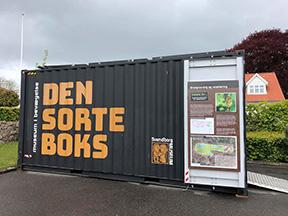 Den Sorte Boks åbnet i Kirkeby