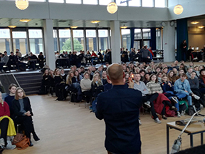Historiens dag for 350 gymnasieelever
